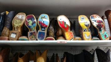 Interesting Boots at a random boot shop